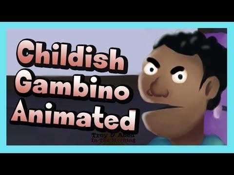 Childish Gambino - Bonfire (ANIMATED)