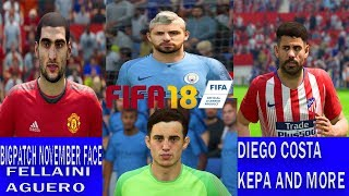 FIFA 19 PATCH FACE FOR FIFA 18 | NEW 18 FACE FROM FIFA 19