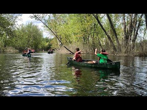 Troop 4 Hopkinton - Overnight Canoe Trip on Saco River