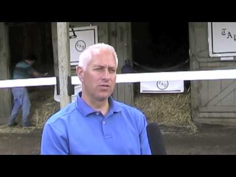 Todd Pletcher at Saratoga