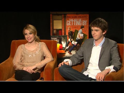 Emma Roberts and Freddie Highmore on Their Big Teenage Crush