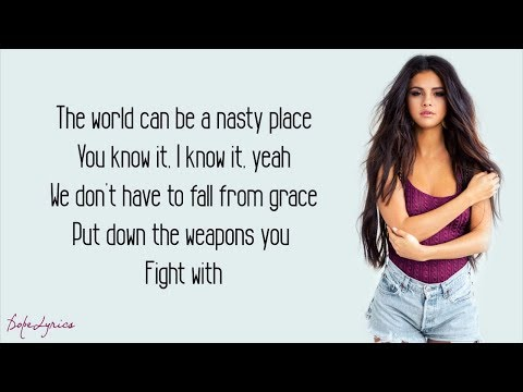 Selena Gomez  Kill Em With Kindness Lyrics