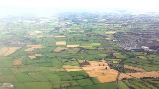 N Ireland Aerial View Sky Sea Land - Relax Meditate Landscape Scenery