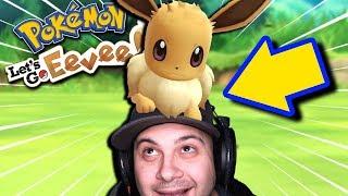 EEVEE IS MY NEW BEST FRIEND! | Pokemon Let's Go Eevee