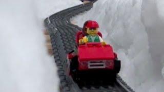 Lego Snow Roller Coaster thumbnail