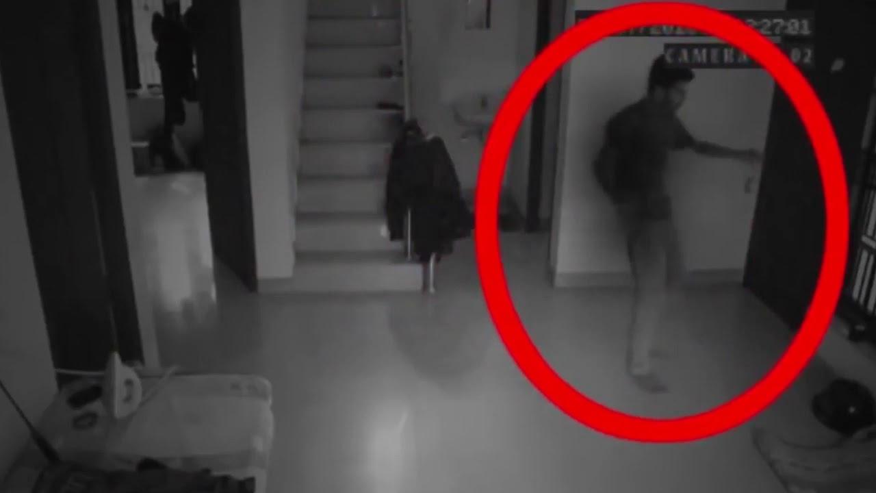 Menakutkan terekam kamera cctv penampaka hantu setan percaya gak percaya