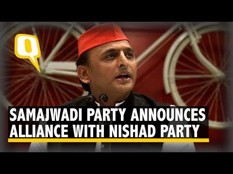 2019 Elections: Akhilesh Yadav Addresses Media Over Coalition With Nishad & Other Parties