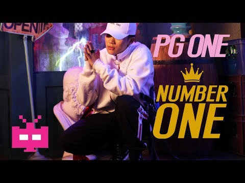 👑 PG ONE of 红花会 🌹 : NUMBER [ NEW MIX ] 👑 :LYRIC VIDEO