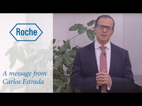 A message from Carlos Estrada, General Manager Roche Colombia - CSR 2017