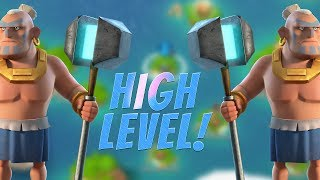 Boom Beach High Level Gameplay - Warrior Destruction! Clearing My Map!