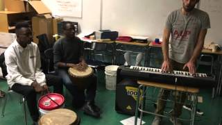 YVBS Kendrick Lamar medley practice