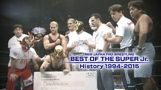 BEST OF THE SUPER Jr. History 1994~2015