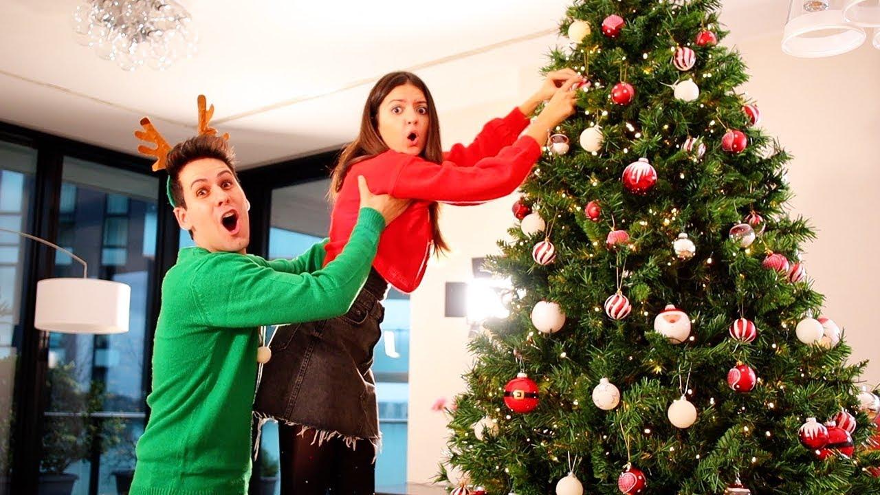Albero Di Natale Youtube.Facciamo L Albero Di Natale Youtube