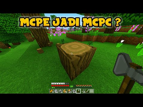 CARA MERUBAH TAMPILAN MCPE MENJADI MCPC!!! [1.2/1.1/1.0]