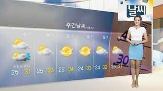 """[날씨] 찜통더위에 자외선도 강해…""""야외 활동…"""
