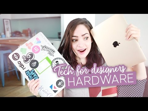 Tech for Designers: Hardware | CharliMarieTV