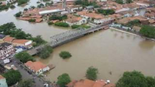 Vídeo atual da Enchente 2009 em Trizidela do Vale e Pedreiras - Ma