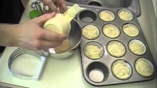 Beginning Cooks Banana Crumb Muffins