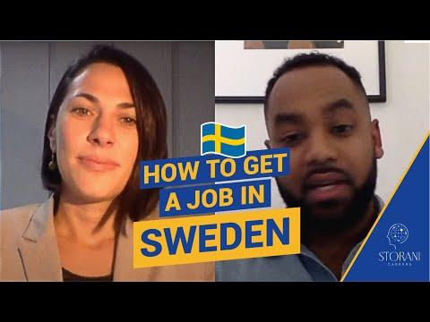 JOB MARKET IN SWEDEN | How to Get a Job in Sweden 2021