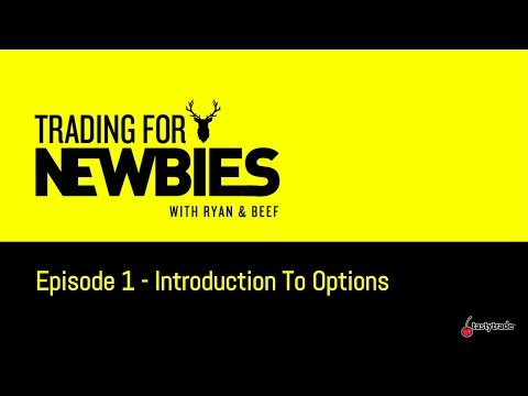Introduction To Options Trading  | Trading for Newbies
