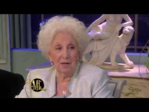 La noche de Mirtha Legrand 2014 - Estela de Carlotto