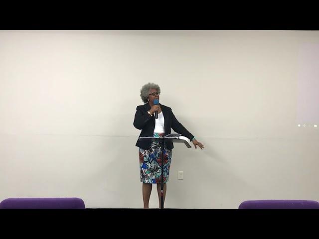 Pastor Rhovonda Brown: In the midst