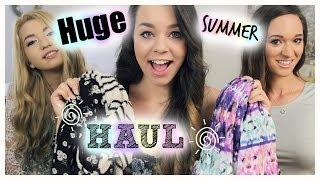 Huge Summer Clothing Haul! Forever 21, Urban Outfitters, Cotton On & more!