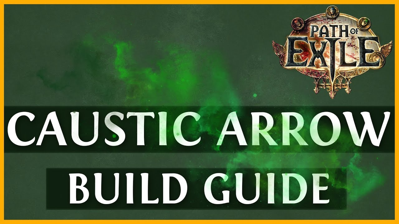 Path Of Exile Caustic Arrow Occultist Build Guide Poe 3 6 2019