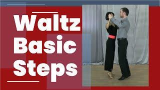 Waltz dance steps for beginners - The box step