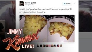Jimmy Kimmel Settles the Pineapple Pizza Debate