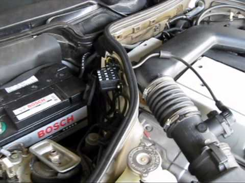 1994 Mercedes E320 Check Engine Light Diagnostics - YouTube