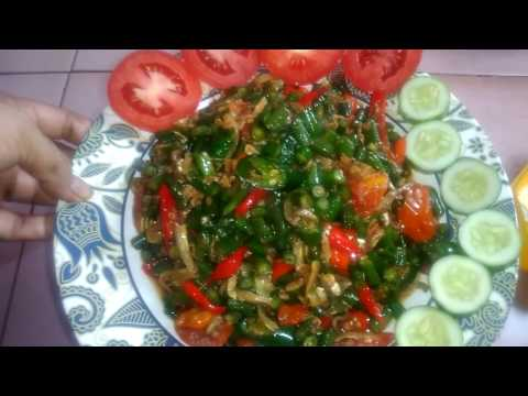 Resep Oseng Teri kacang Panjang