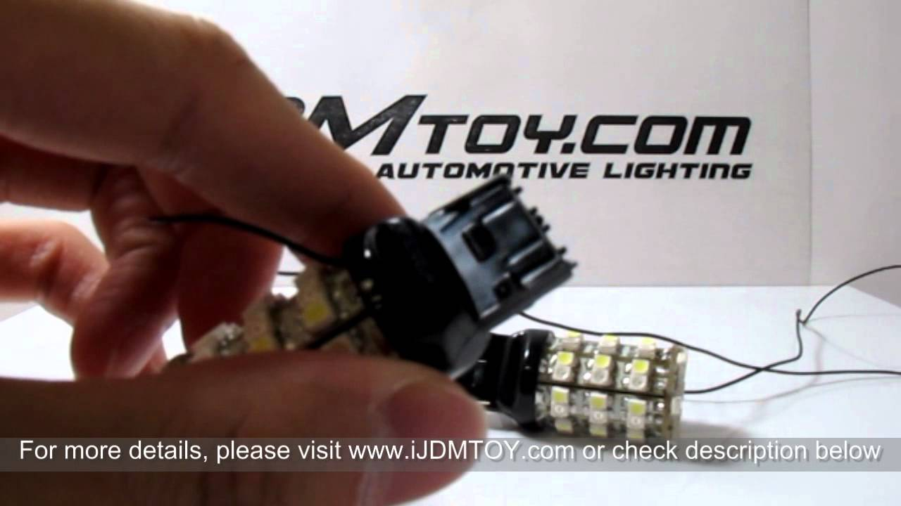 Dual Color Switchback 3157 Led Turn Signal Light Bulbs On 2011 Chevy Socket Wiring Diagram Camaro