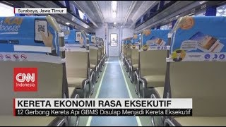 Kereta Ekonomi 'Disulap' Jadi Kereta Eksekutif