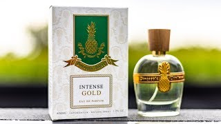 NEW PINEAPPLE VINTAGE INTENSE GOLD BY PARFUMS VINTAGE FRAGRANCE REVIEW | THEIR BEST RELEASE YET