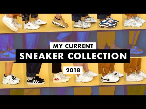 My Current Sneaker Collection 2018