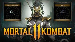 Mortal Kombat 11 - FREE Kombat League Gear for Kotal Kahn & Sonya Blade! (Timed Krypt Event #13)