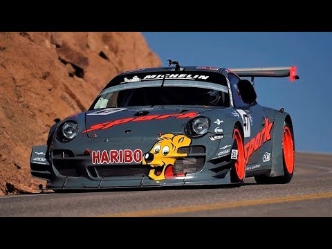 Porsche 911 GT3R // Romain Dumas Debut at Pikes Peak 2012