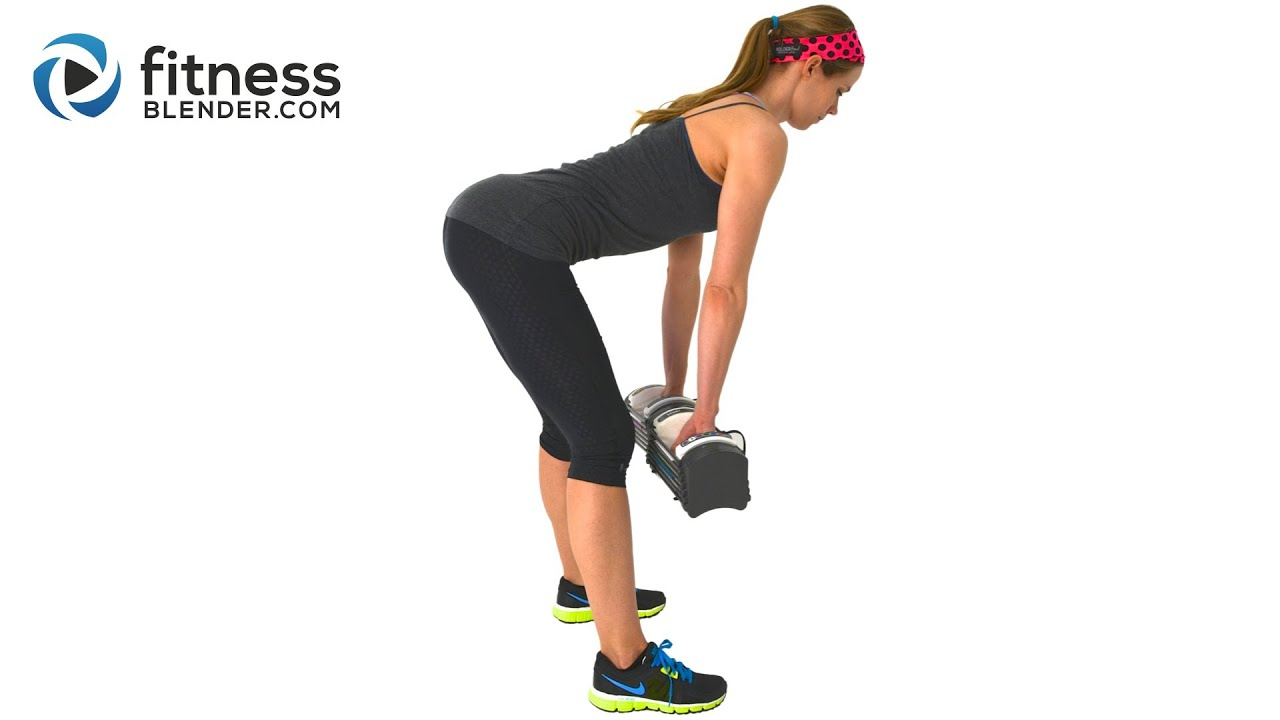 30 min DB Butt Workout Created by Fitness Blender