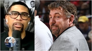 Jalen Rose reacts to James Dolan & the Knicks' silence on the recent protests | Jalen & Jacoby