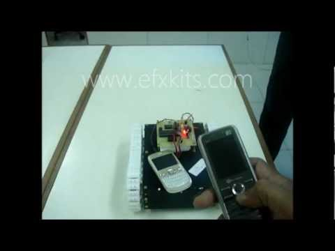 cell phone operated robotic car A remote control vehicle is defined as any vehicle that is teleoperated by a  means that does not restrict its motion with an origin external to the device this is  often a radio control device, cable between control and vehicle, or an infrared  controller a remote control vehicle or rcv differs from a robot in that the rcv is  always  a remote control car that could be controlled by any bluetooth cell  phone.