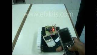 Cell Phone Operated Robotic Vehicle | Projects for Engineering Students