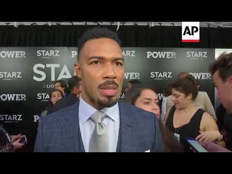 On 'Power' red carpet, Omari Hardwick reacts to Maryland newsroom shooting; 50 Cent says Terry Crews