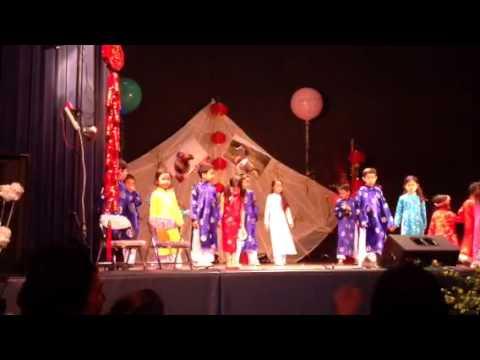 Tet 2014 -- Kid Fashion Show at San Finbar Church -- Burbank