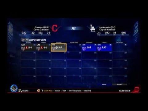 Start of 2021 world series vs. the Dodgers! MLB® The Show™ 17 franchise video