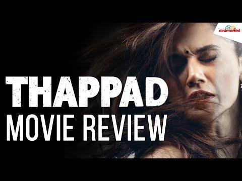 Thappad Movie Review  Taapsee Pannu  Anubhav Sinha