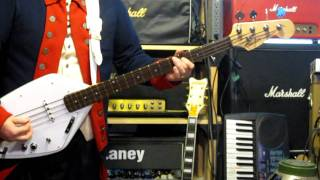 "Phil ""Fang"" Volk bass line - There She Goes / Paul Revere and the Raiders"