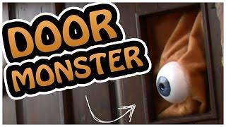 Door Monster - Crazy Awesome Halloween Decoration