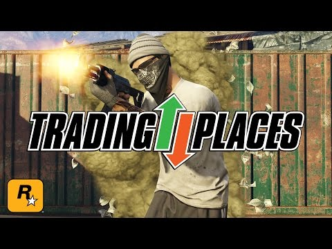 Playing New Trading Places Maps (GTA Online Official Live Stream)