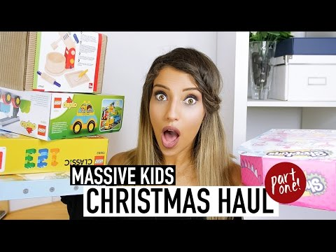 KIDS CHRISTMAS GIFT HAUL 2016 | CHILDREN'S STYLE & TOY IDEAS